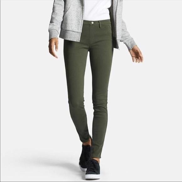 38e8e4a6673e43 Uniqlo Jeans   Olive Legging Pants   Poshmark